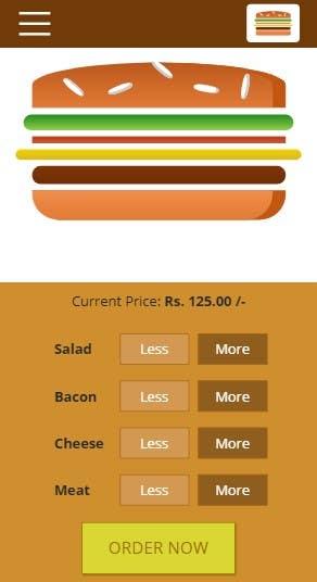 Burger Food Shopping App