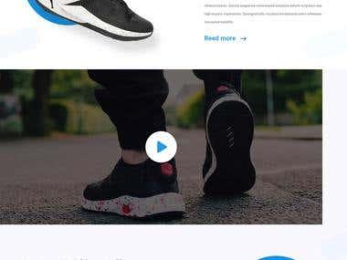 Best Shoe Landing page