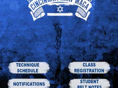 Cincinnati Krav Maga - Android And iOS app