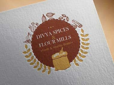 Logo design for a Flour Mill...