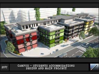Campus - students accommodations
