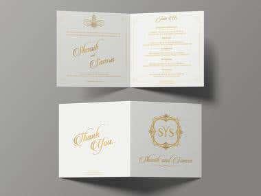 Royal Wedding Card