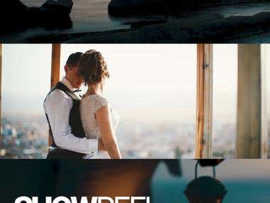Video Showreel for weddings production company.