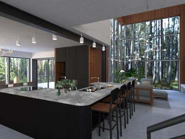 The Private House - Kitchen