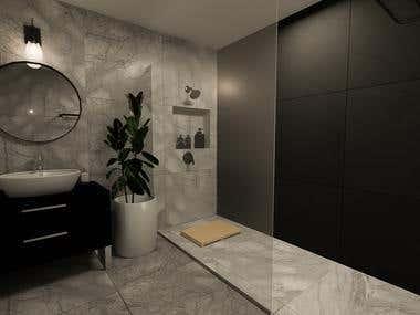 The Private House Design - Bathroom