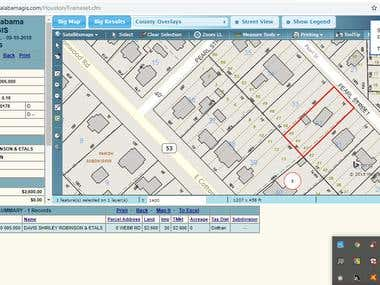 GIS Property research