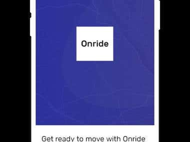OnrideTaxi - Uber Like Taxi Booking App