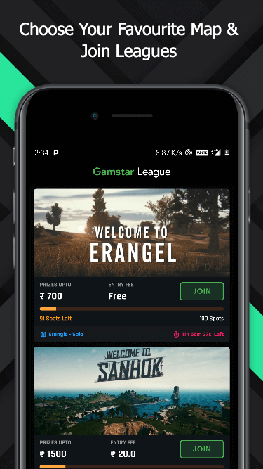 Gamstar - eSports Application