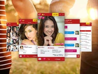 Dating Web and Mobile App