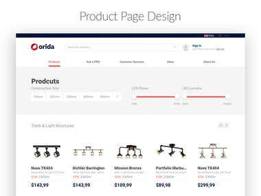 Web Store Design