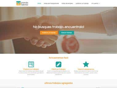Diseño web sobre wordpress