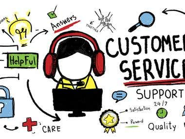 Customer Service, Data Entry