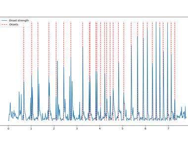audio onset detection