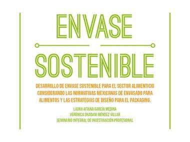 Presentación para tesis con tema sostenible