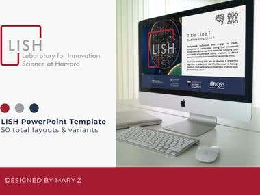 50-Page PowerPoint Template