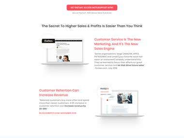 Clickfunnels Landing Page Design