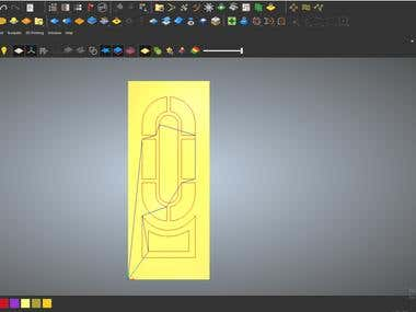 DOOR DESIGN AND PROCESSING SIMULATION WITH ARTCAM