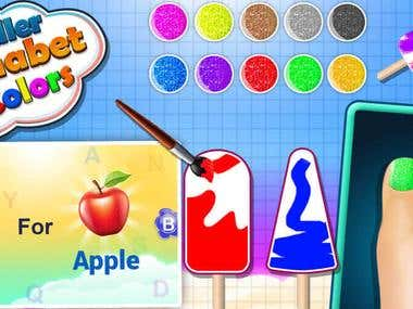 ABC Alphabet - Letter Tracing & Learning Colors Game