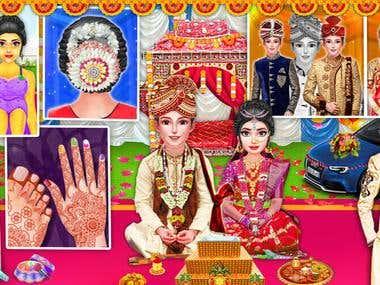 Indian Wedding Salon - Marriage Game