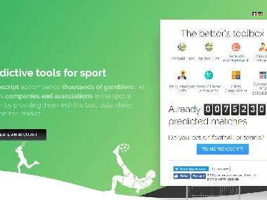 Sports Betting Web & Mobile App