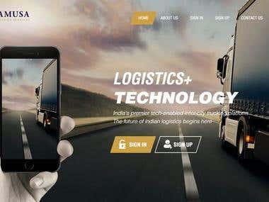 Logistics Services Web & Mobile App