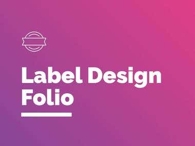 Label Design Portfolio