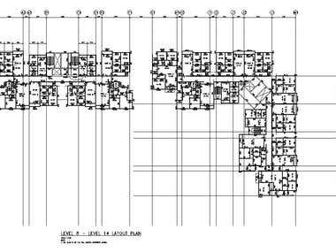 Structural Layout of Building