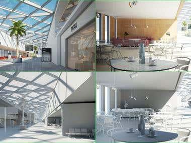 3D design on building