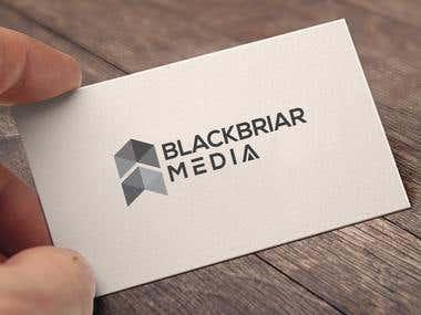 Logo Concept for Blackbriar.Media