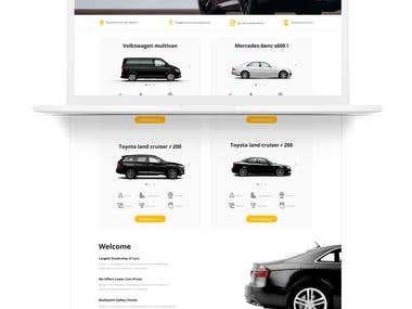Full Stack Development of 'KiyAvto' website