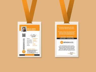 ID Card Design | Corporate ID Card