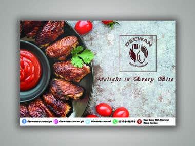 Restaurant Social Meda Banner
