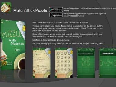 Match Stick Puzzle