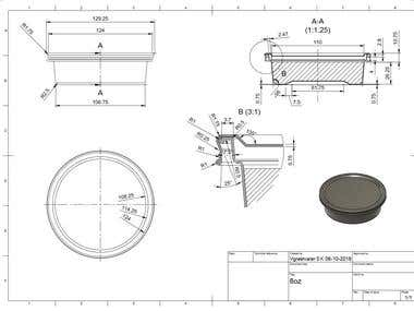 2D CAD/CAM Drawings