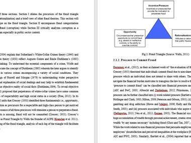 Research Design/Methodology for Articles/Dissertation