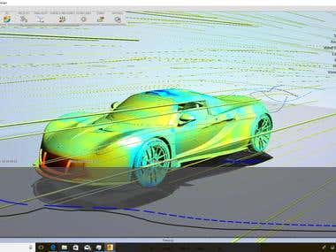 Shape Optimization, CFD and Stress analysis