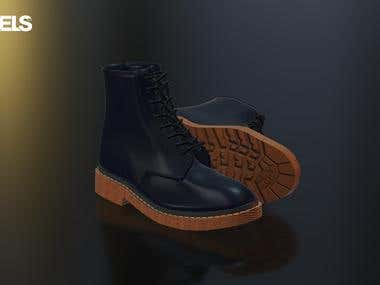 3D Product - Dr. Martens Shoes