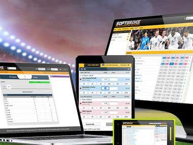 The Softbroke Betting Exchange software