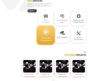 Electron Emittion Wordpress website