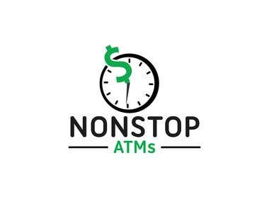 Logo design Nonstop Atms