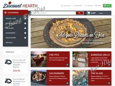 Discount Hearth Site