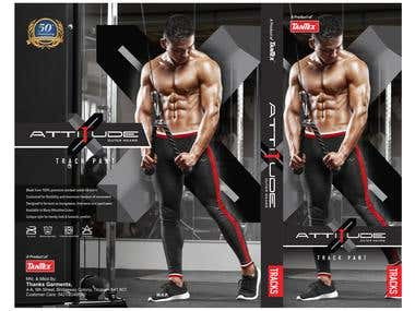 X-Attitude Men's Trackpank Packaging Design