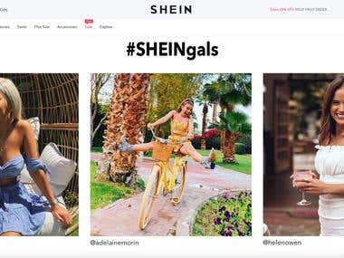 Online Shopping Website similar to Shein