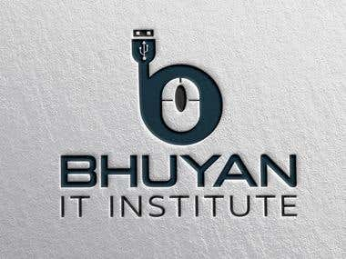 Bhuyan It Institute Logo Design By pavel_design