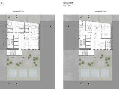 design of architectural plans