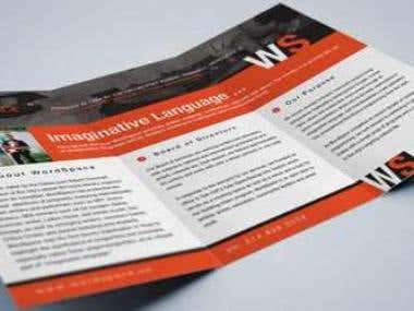 NonProfit Brochure / Trifold