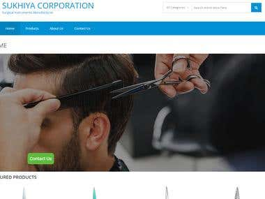 sukhiya-corporation website