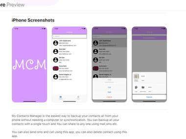iphone Application Deveolopment