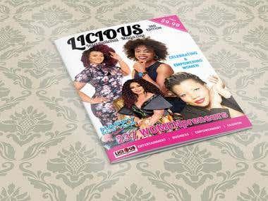Licious Magazine. Jan. 2018