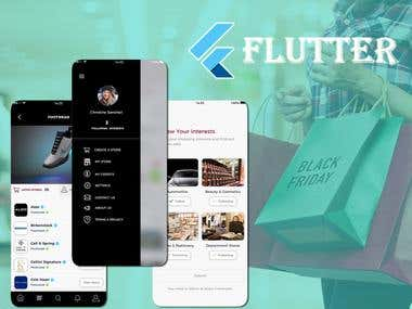 Flutter Shopping App